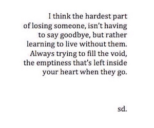 quotes, love, and emptiness image