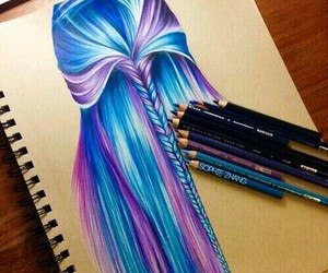 creative, drawing, and fabulous image