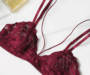 bras, lingerie, and lace image