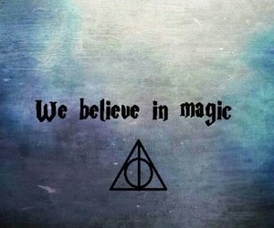 magic, harry potter, and believe image