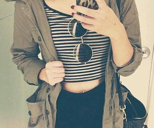 accessories, clothes, and girl image