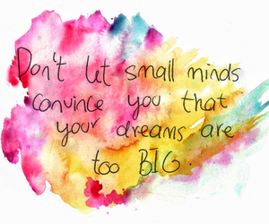 Dream, quote, and mind image