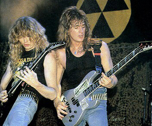 megadeth, dave mustaine, and guitar image
