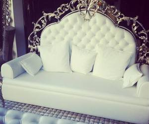 white, luxury, and sofa image