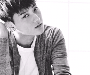 exo, tao, and b&w image