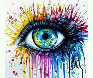 eye, art, and eyes image