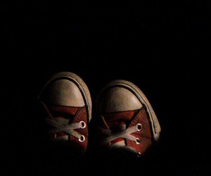 converse, red, and sneakers image