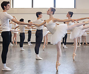 ballet, boy, and dance image
