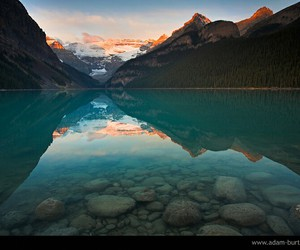 fjord, travel, and mountain image