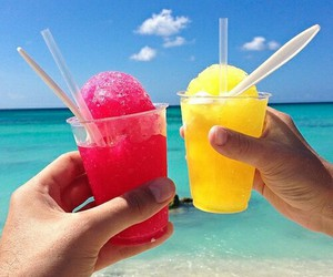 summer, beach, and ice image