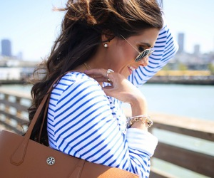 style, fashion, and stripes image
