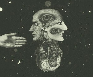 eyes and space image