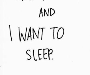 sleep, life, and quotes image