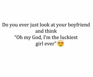 love, boyfriend, and lucky image