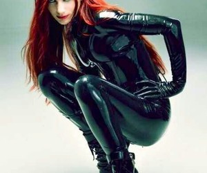 latex and latex catsuit image
