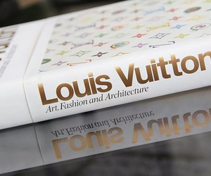 Louis Vuitton, book, and fashion image