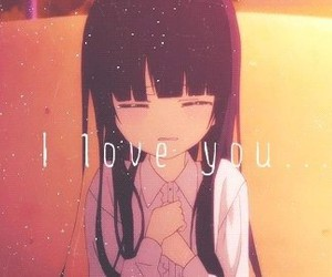 anime, inu x boku ss, and I Love You image