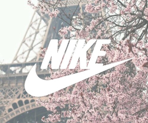 nike, fitness, and flowers image