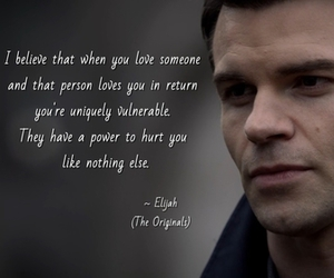 elijah, The Originals, and love image
