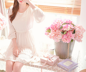 dress, girl, and girly image