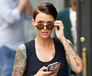 ruby rose, oitnb, and tattoo image