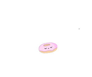 donut, overlay, and transparent image