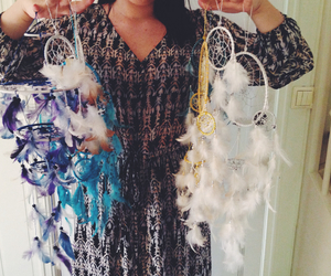 dreamcatcher, festival, and hippie image