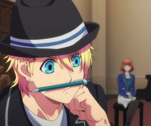 bishounen, uta no prince sama, and anime funny image