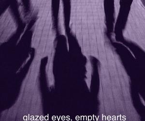 empty, eyes, and glazed image