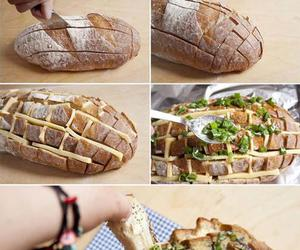 bread, comida, and food image