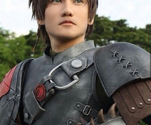 cosplay, how to train your dragon, and hiccup image