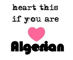 Algeria, dz, and heart image
