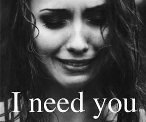 black and white, girl, and sad image