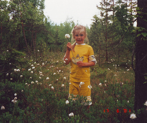 adidas, forest, and little girl image