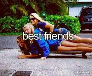best friends and friends image