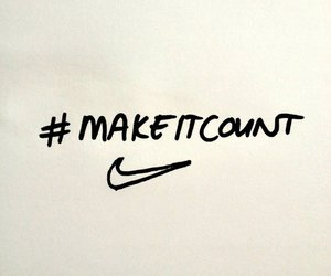 nike, quote, and fitness image