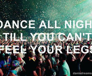 dance, night, and party image