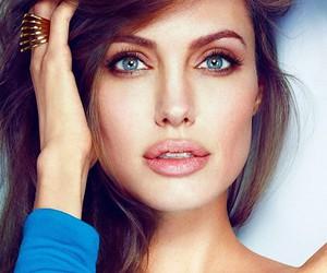 Angelina Jolie, beauty, and eyes image