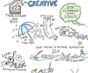 creative, music, and art image