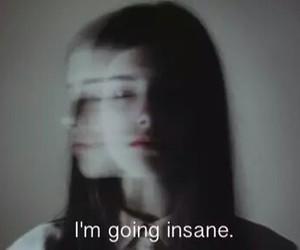 insane, grunge, and sad image