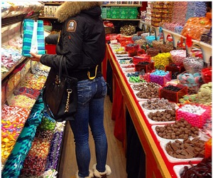 candy, fashion, and food image
