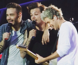 louis tomlinson, liam payne, and niall horan image