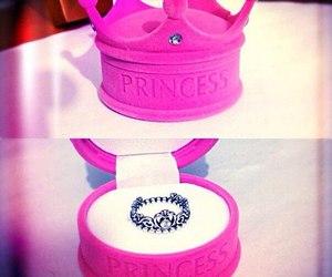 ring, pink, and princess image