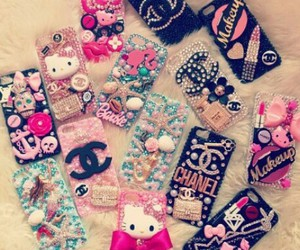 case, girly, and iphone image
