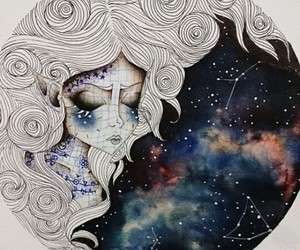 art, galaxy, and tumblr image