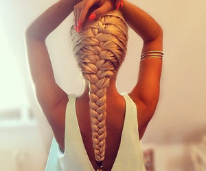 cheveux, fashion, and girl image