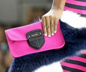 fashion, Prada, and pink image