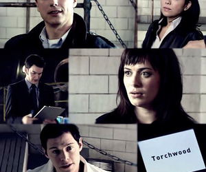 eve myles, john barrowman, and torchwood image