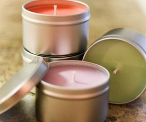 candle and pastel image