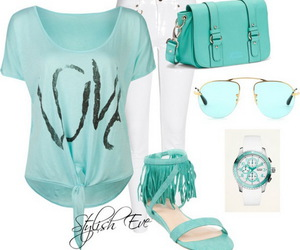 outfit and blue image